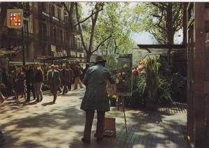Painter, BARCELONA, Cataluna, Spain, PU-1985