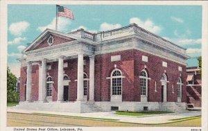 United States Post Office Lebanon Pennsylvania 1958