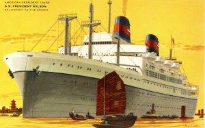American President Lines - SS President Wilson