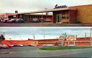 North Dakota Williston El Rancho Motor Hotel Cafe & Lounge
