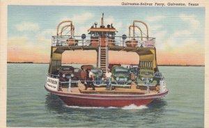 Galveston-Bolivar Ferry , GALVESTON , Texas , 1930-40s
