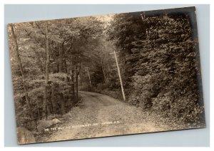 Vintage 1900's Photo Postcard Road to Maplehurst Inn Antrim New Hampshire