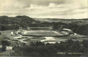 sweden, GÖTEBORG, Slottsskogsvallen Stadion (1930s) Stadium Postcard (1)