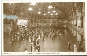 Winter Gardens Ballroom, Blackpool, 1920s-1930s unused RP