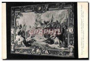 Old Postcard Gobelins Tapestry