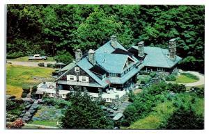 Tod Morden Lodge, Cummington, MA Postcard