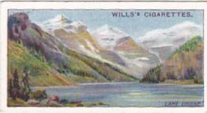 Wills Cigarette Card Overseas Dominions Canada No 22 Lake Louise