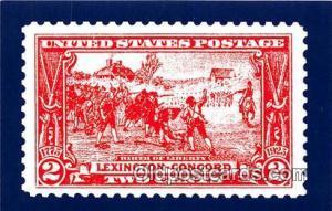 Birth of Liberty Lexington, Concord Postcard Post Card Lexington, Concord Bir...