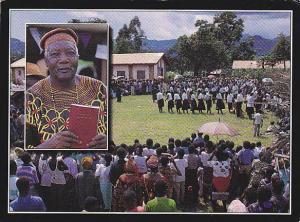 Dedication of the Babungo New Testament, June 1994; Cameroon