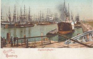 HAMBURG, Germany, PU-1899 ; Segelschiffhafen I.