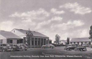 Kentucky Gilbertsville Administration Building Kentucky Dam State Park Curteich