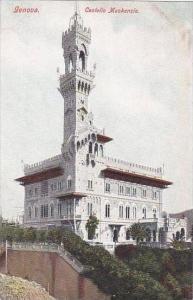 Italy Genova Castello Mackenzie
