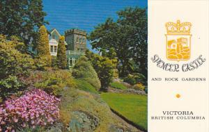 Spencer Castle and Rock Gardens Victoria British Columbia