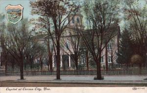 Capitol At Carson City Nevada 1909