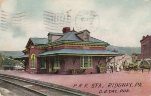 RIDGWAY , Pennsylvania, PU-1909; Pennsylvania Railroad Station