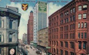 USA Washington Street east from Dearborn Street Chicago 03.78