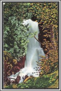 Minnesota, Stairway Falls Near Stairway Portage