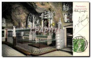 Old Postcard Mariastein Gnadenkapelle