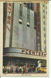 New York City, The Center Theatre, Rockefeller Center