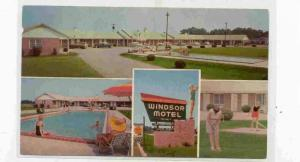 Windsor Motel and Dining Room, Summerton, South Carolina,  40-60s