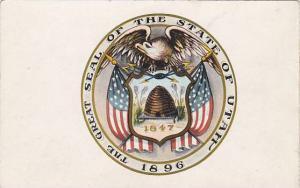 State Seal , UTAH ,00-10s