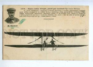205410 FRANCE AVIATION Astra Wright airplane pilot GAUBERT