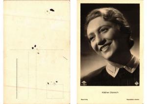 CPA Kathe Dorsch. Ross Verlag foto A 2901/1 FILM STAR (559998)