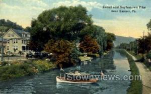 Canal & Doylestown Pike Easton PA Unused