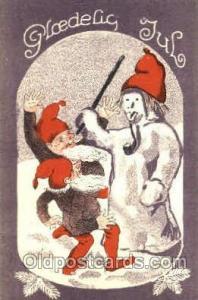 Snowman Postcard Postcards