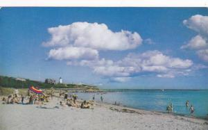 Nobska Beach and Lighthouse, Woods Hole, Massachusetts, 40-60s