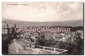 Postcard Old Montelimar Vue Generale