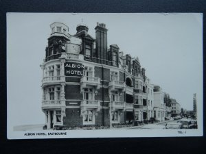 Sussex EASTBOURNE The Albion Hotel c1970s RP Postcard by Lansdowne Co. Ltd