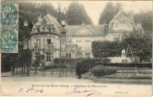 CPA Env. de MOUY Chateau de Morainval (130206)