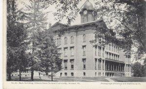 NORMAL , Illinois , 1901-07 ; Illinois State Normal University, Mn bldg