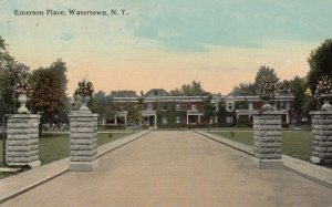 WATERTOWN , New York , 1918 ; Emerson Place