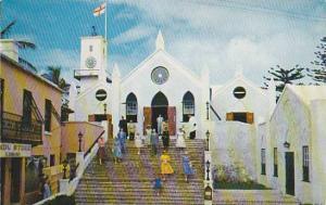 St. Peter´s Church, the Parish Church of St. George´s, Bermuda, 40-60s