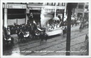 Hartland WI Parade Real Photo Postcard