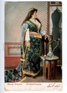 192561 TURKEY CONSTANTINOPLE lush beauty hookah Vintage