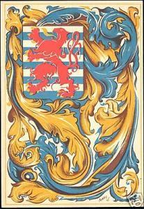 luxemburg luxembourg, Heraldry Patriotic (ca. 1945)