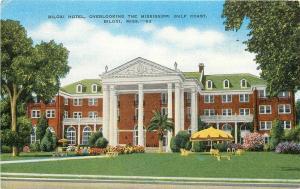 MS, Biloxi, Mississippi, Biloxi Hotel, E.C. Kropp No. 28663