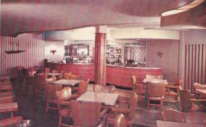 Cocktail Lounge, Hotel Commercial, Mont-Joli, Quebec, Canada, 1940-1960s