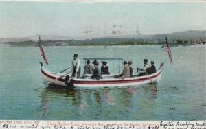 MONTEREY BAY , California , PU-1906 ;  Glass Bottom Boat, near Hotel Del Monte