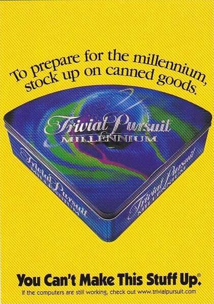 Trivial Pursuit Millenium Commemorative Edition