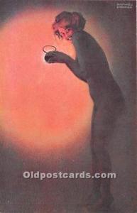 Maud, Cambrioleuse # 83 Marque L-E Artist Raphael Kirchner Unused