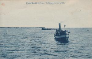 Une Remorqueur De La CEFA, Port-Gentil, Gabon, Africa, 1900-1910s
