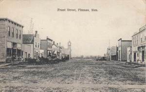 PLUMAS , Manitoba , Canada , 1908 ; Front Street