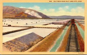 Utah Salt Lake City Salt Beds Curteich