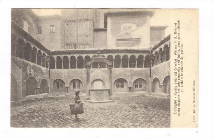 Bologna, ITALY, 00-10s   Cortile detto dei Celestini