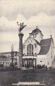 Exposition Universelle Bruxelles 1910 Entree Principale de la Section Allemande