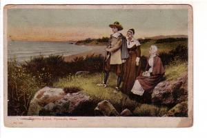 Family of Pilgrim Exiles, Plymouth, Massachusetts, Reichner Bros